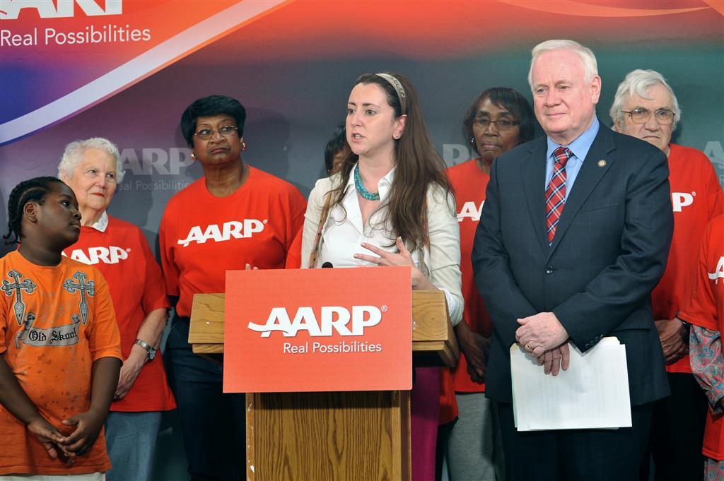 Assemblywoman Nily Rozic announced Kinship Care legislation with Senator Martin Golden in Albany.