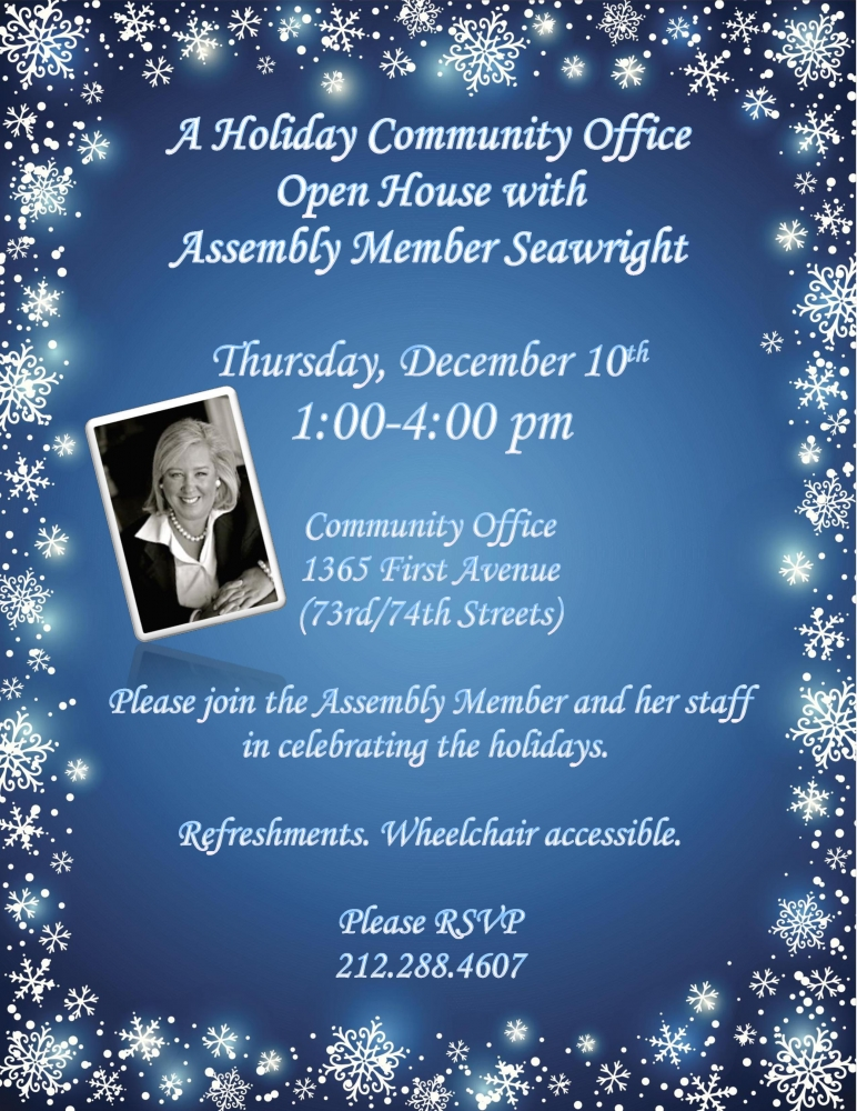 "<a href=""https://www.facebook.com/events/1659504717663458/"" target=""blank"">A holiday community office open house</a>"