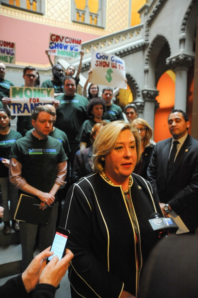 Assembly Member Seawright stands with Riders Alliance at a news conference to call for immediate funding of the MTA Capital plan. Transit infrastructure needs to expand to relieve the burden on neighboring transit systems, with projects like the second avenue subway, which runs through my district on the Upper East Side. It was just announced that phase 2 of the Second Avenue Subway will need to be fast tracked to speed up the timetable for completion on this critical project. We need to fund the MTA Capital plan immediately, to prevent projects like this one from falling behind.
