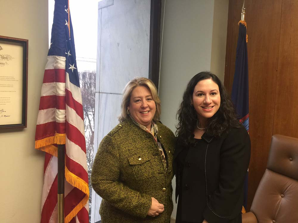 Feb 9, 2017 – Seawright meets with Lenox Hill Neighborhood House's Geriatric Care Management Director Marissa Block.<br />