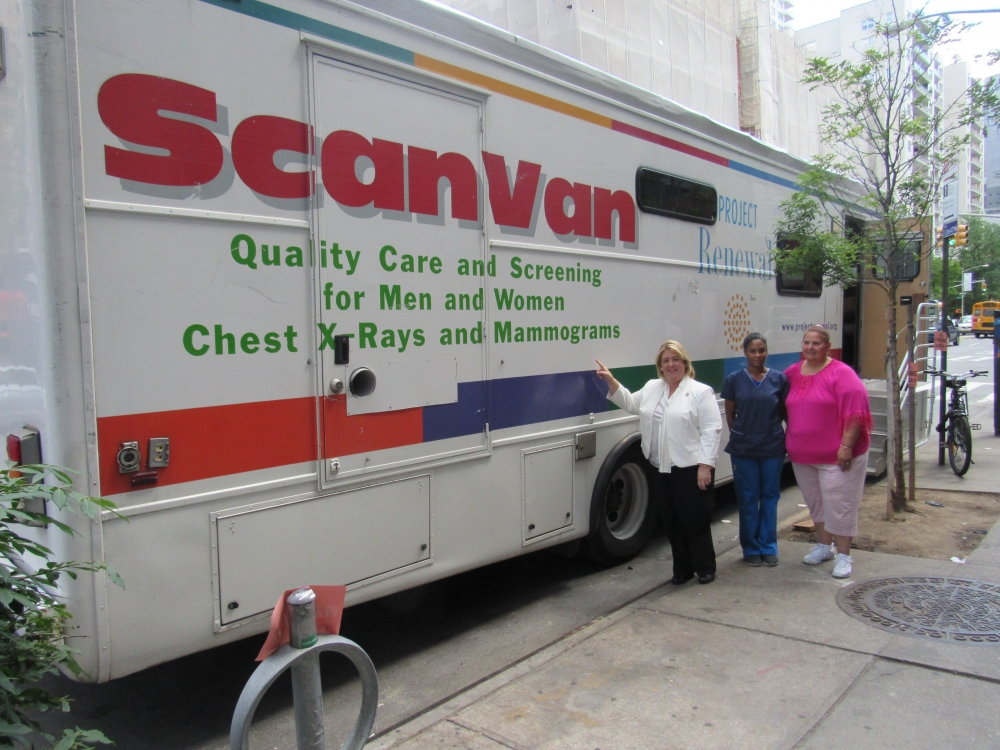 Assembly Member Seawright partnered again with Project Renewal to provide free mammograms on the Upper East Side. Seawright has previously hosted the ScanVan for screenings at no cost on the Upper East Side and Roosevelt Island.<br />