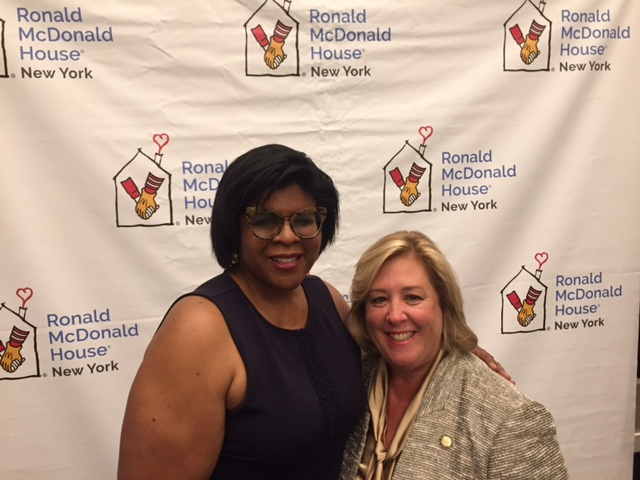 On Monday, September 18, Seawright attends the grand re-opening and ribbon cutting for the Ronald McDonald House with CEO, Dr. Ruth C.  Browne.<br />