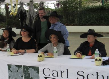 On Sunday, October 15, Assembly Member Seawright joined the Carl Schurz Park Conservancy for the Annual Halloween Howl and Healthy Hound Fair. The Judges and Conservancy's Director of Operations Patrick McCluskey with Assembly Member Seawright.<br />