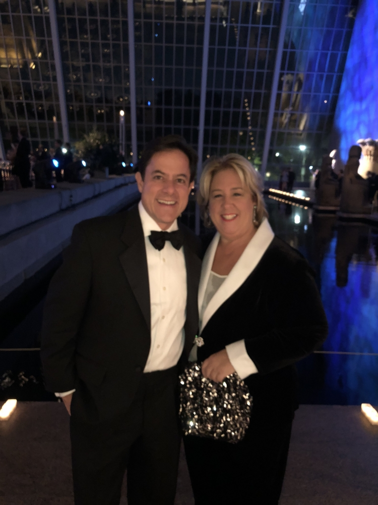 Council Member Garodnick and Assembly Member Seawright at a Gala to benefit the Metropolitan Museum of Art.<br />