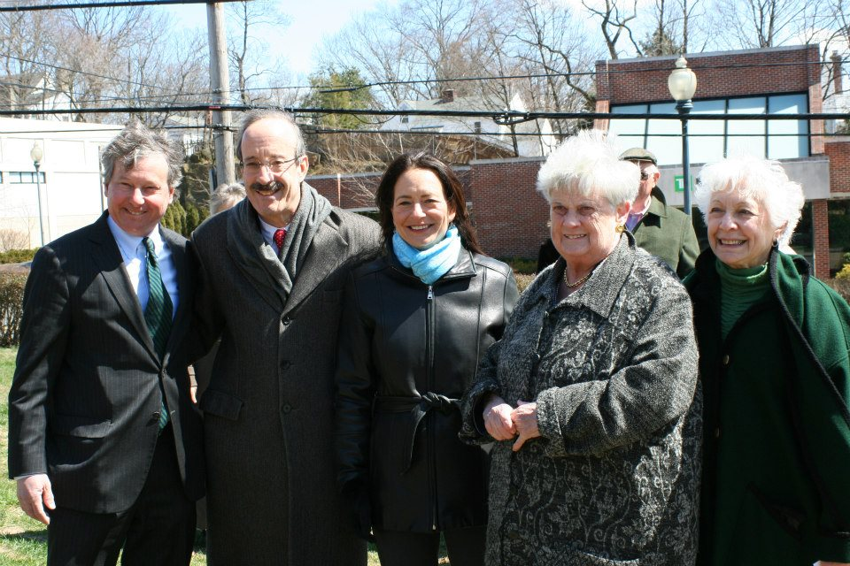 In April, Assemblyman Otis joined Congressman Elliot Engel and local officials to celebrate the opening and dedication of the Valerie O'Keefe Bocce Court at the Mamaroneck Senior Center.