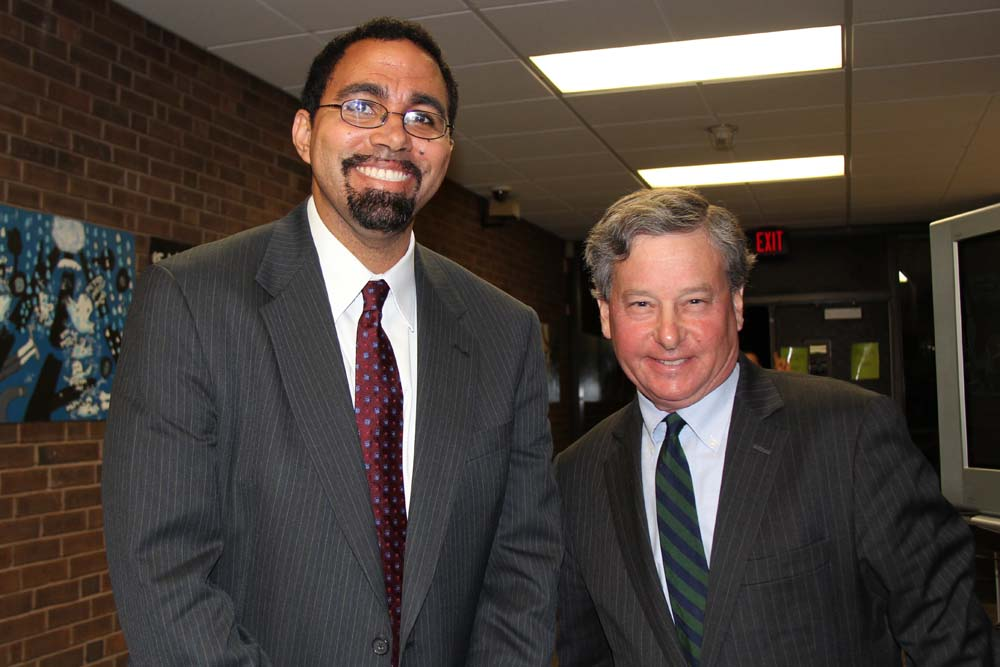 SED Commissioner John King attends forum hosted by Assemblyman Otis to address issues relating to the Common Core curriculum.