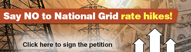 Say NO to National Grid rate hikes!