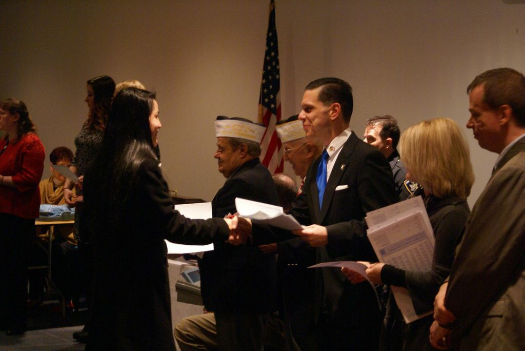 At the January 2014 - United States Citizenship Naturalization Ceremony