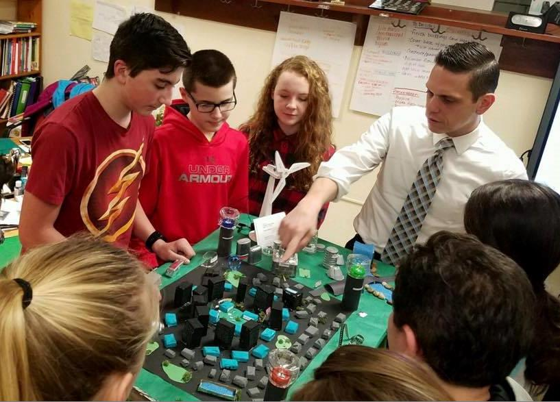 The Schalmont Middle School Future City Team is excited about engineering and improving our world! 1/19/17<br />