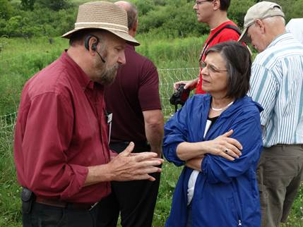 Assemblywoman Lupardo attends the annual Chenango County Farm Tour to learn more about local agriculture and obstacles faced by farmers.