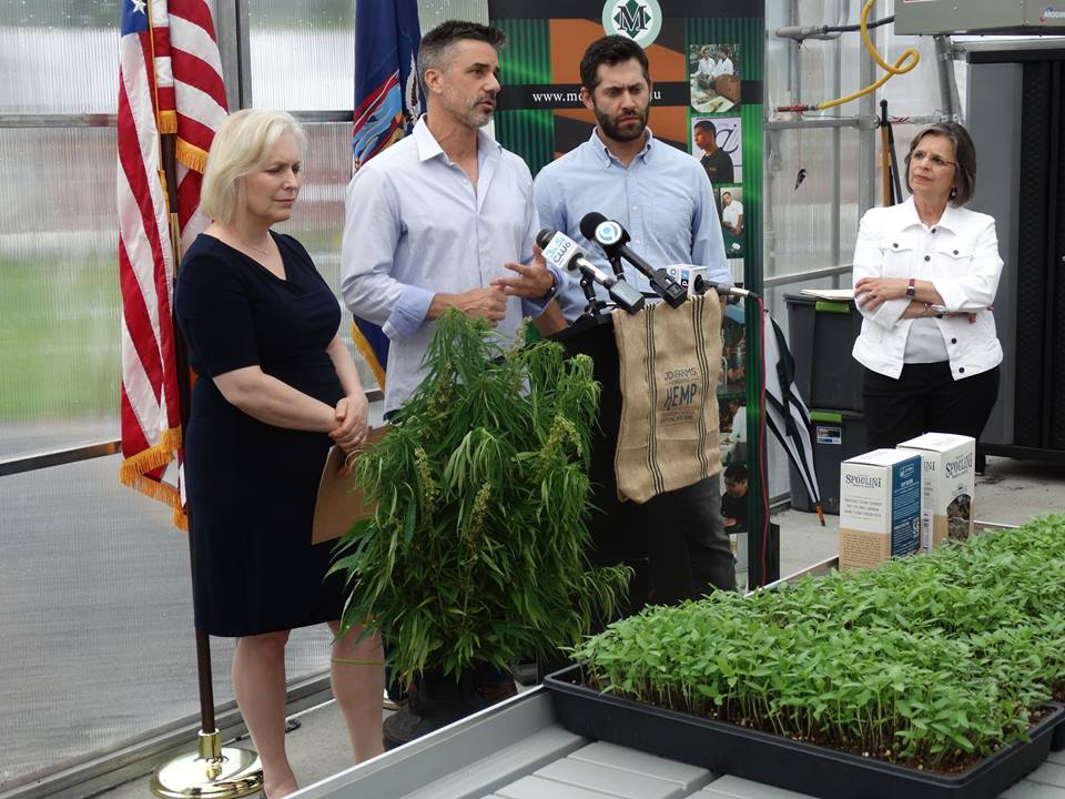 July 24, 2017 – Assemblywoman Lupardo joins U.S. Senator Kirsten Gillibrand at JD Farms, where she announced a letter she is sending to the U.S. Department of Agriculture asking the department to incl
