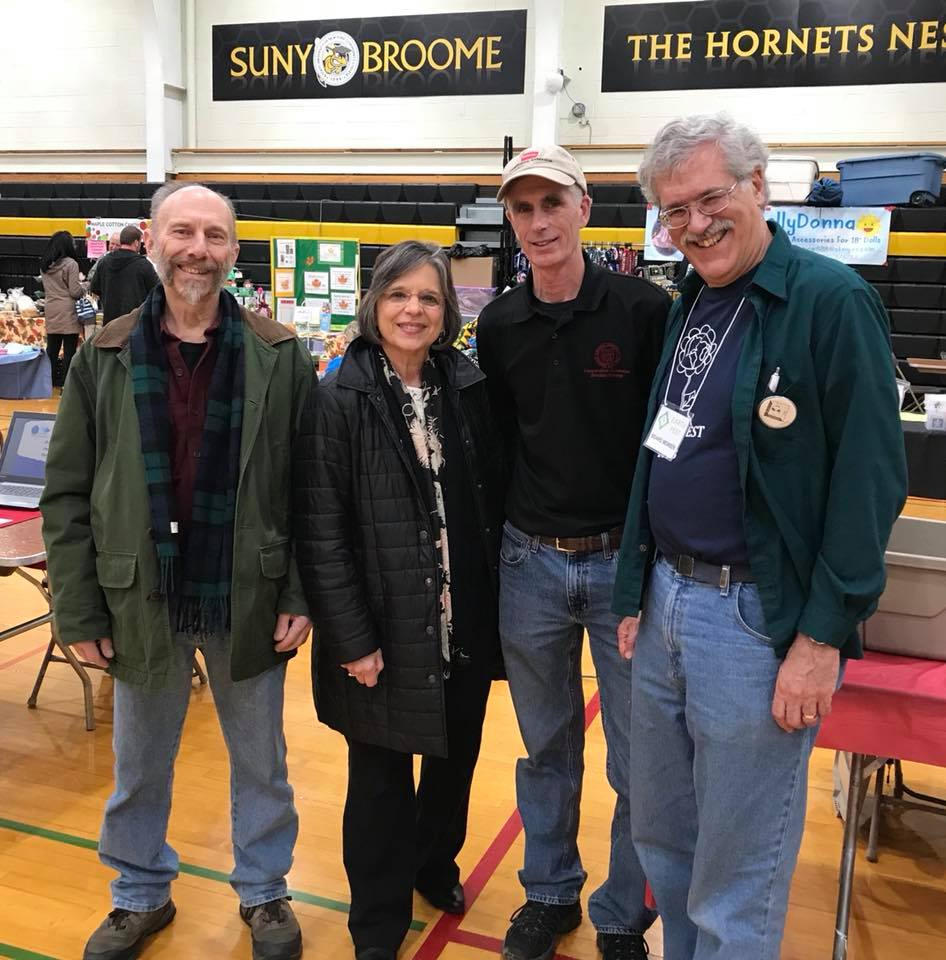 April 29, 2018 – Assemblywoman Lupardo and her co-organizers of the original Earth Fest at this year's event at SUNY Broome Community College.