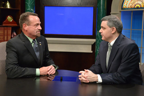Assemblymember Bronson is joined by New York State AFL-CIO President Mario Cilento to discuss the importance of raising the minimum wage in New York State.
