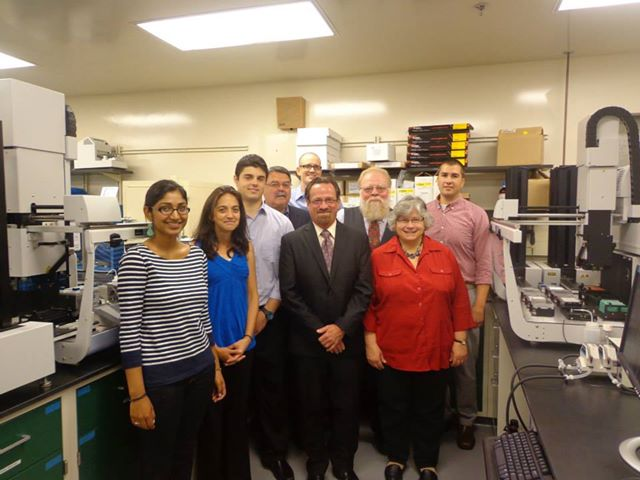 Assemblymember Bronson was invited to tour OyaGen, a local biotechnology company focused on developing drugs for infectious diseases and cancer.